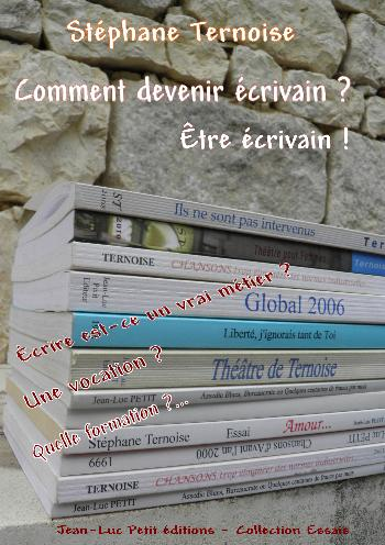 Comment devenir �crivain